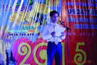 """Chương trình """"Chào Đón Năm Mới 2015"""" Tại TTVH - TT Huyện Tân Thành"""